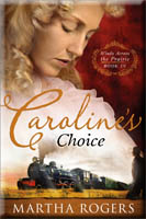 book cover: caroline's choice