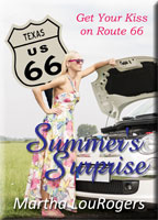 book cover: summer's surprise