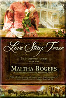 book cover: love stays true